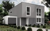 Farbe Einfamilienhaus Türkis