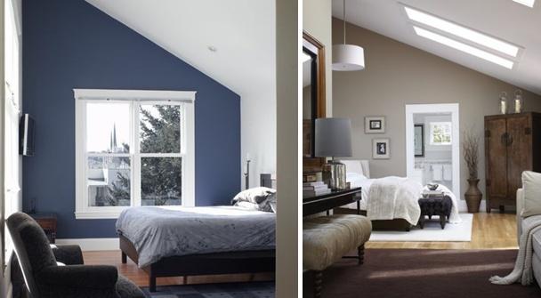 Farbe Schlafzimmer Dachschräge Bescheiden On In Bezug Auf Mit Schöne Gestaltungsideen 1