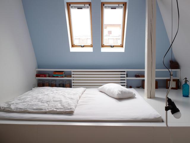 Super Farbe Schlafzimmer Dachschräge Exquisit On Innerhalb Mit Gestalten MJ82