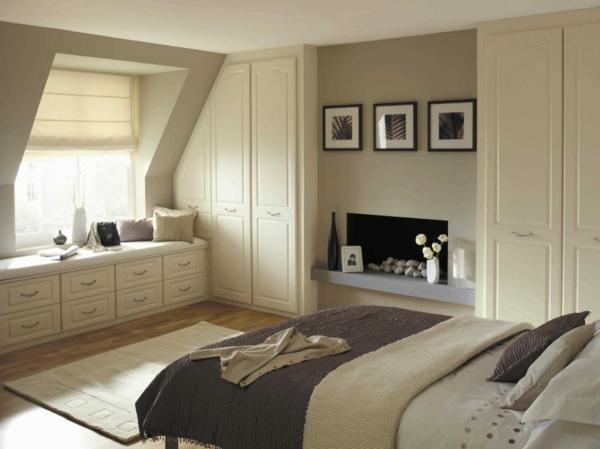 Farbe Schlafzimmer Dachschräge Kreativ On Und Farben Für Mit Schrägen 2