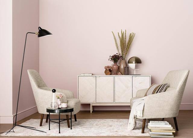 Farbe Wand Nett On Andere überall Altrosa Wandfarbe Bilder Ideen COUCHstyle 9