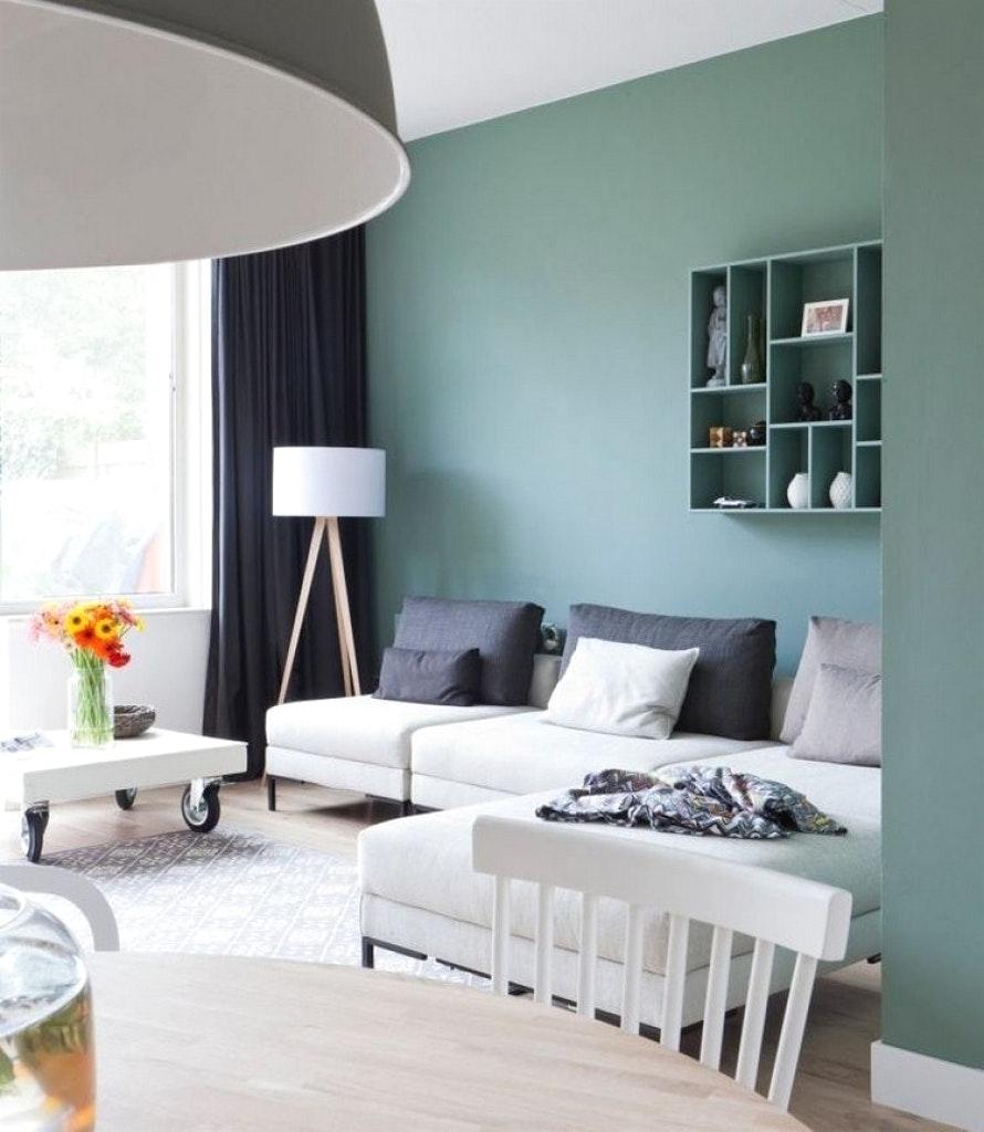 Farben Wohnzimmer Wand Frisch On Auf Innenarchitektur Geräumiges Moderne 6