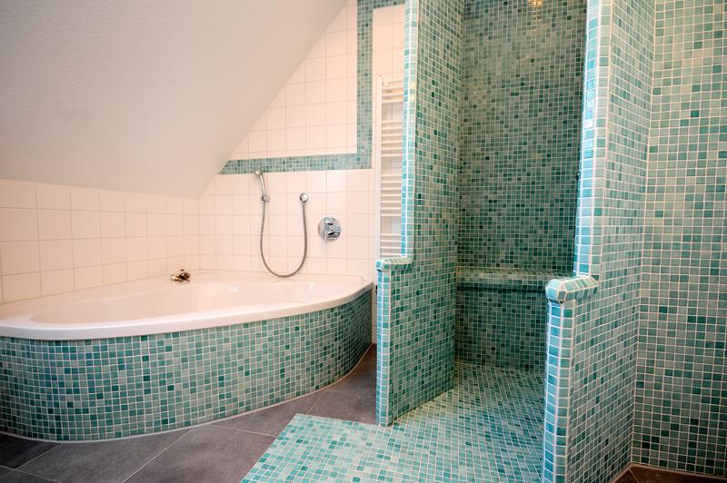 Fliesen Mosaik Dusche Modern On Andere In Bezug Auf Bad Badezimmer 4