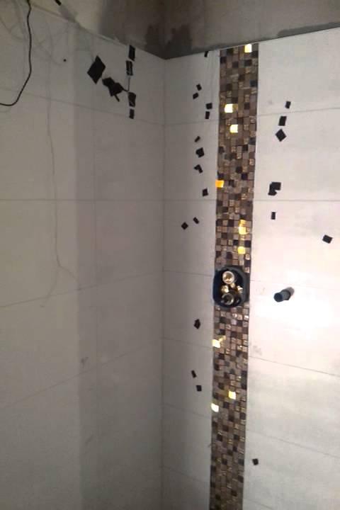 Fliesen Mosaik Dusche
