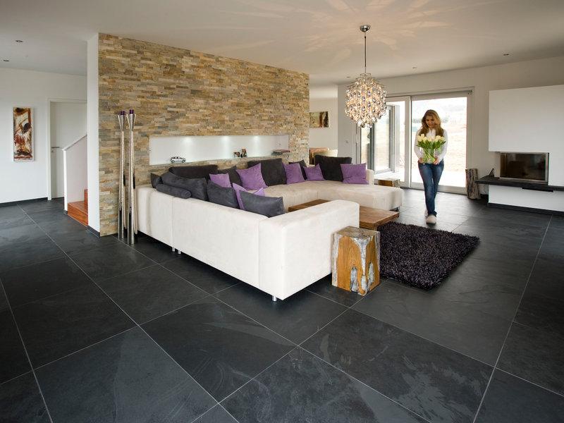 Fliesen Wohnzimmer Schön On Beabsichtigt Schiefer Mustang Natursteinhandel Jonastone 5