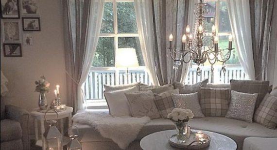 Gardinen Idee Wohnzimmer Imposing On Beabsichtigt Bescheiden Für Fensterdeko 5