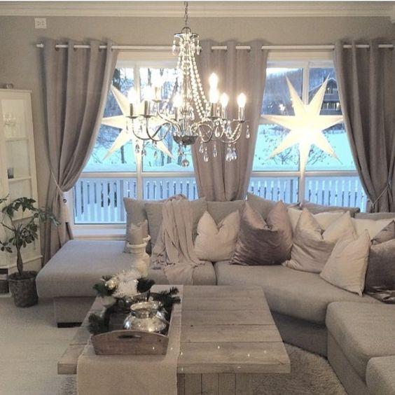Gardinen Idee Wohnzimmer