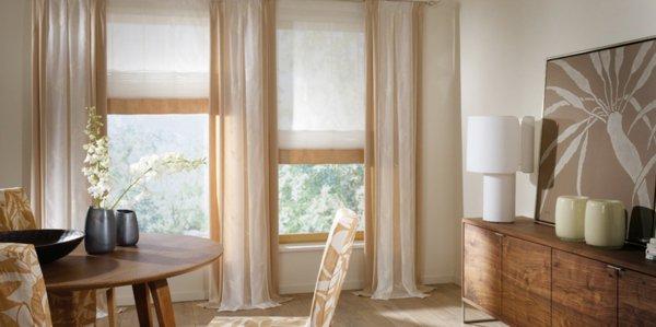 Gardinenideen Modern Für Wohnzimmer Frisch On Auf Fur Herrlich Gardinen 4