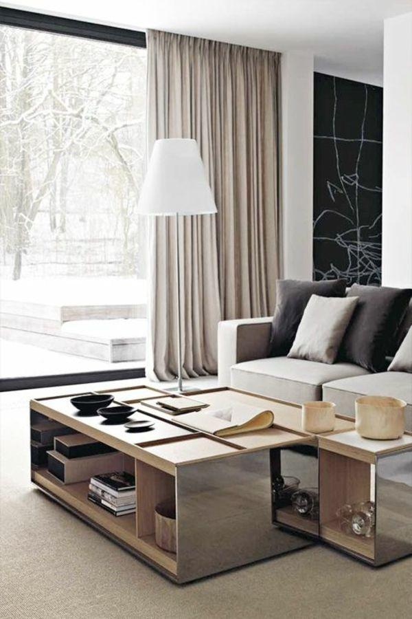 Gardinenideen Modern Für Wohnzimmer Stilvoll On In Bezug Auf Die Besten 25 Gardinen Ideen Pinterest 8
