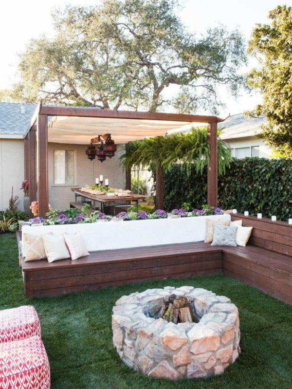 Garten Ideen Fein On In Bezug Auf Gartenideen Die Den Außenbereich Frischer Erscheinen Lassen 2