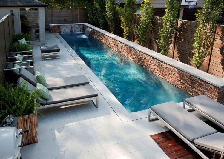 Garten Ideen Mit Pool Stilvoll On In Bezug Auf Rückzugsort Am Sichtschutz Und Schöner Gartengestaltung 6
