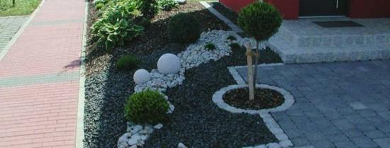 Gartengestaltung Ideen Mit Einfahrt Einzigartig On In Gestaltung Farbe Auf 7