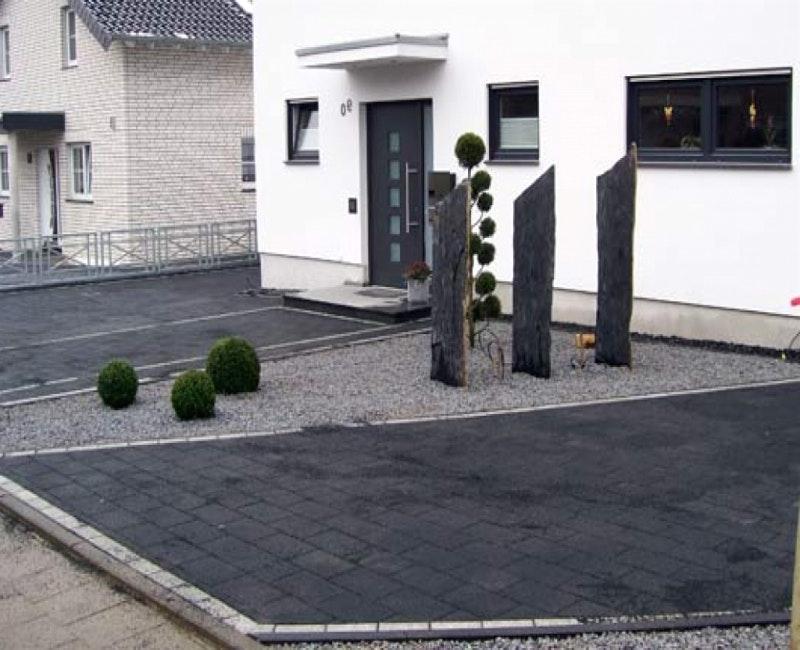 Gartengestaltung Ideen Mit Einfahrt Exquisit On In Bezug Auf Villaweb Info 7 Und Pflastern 8
