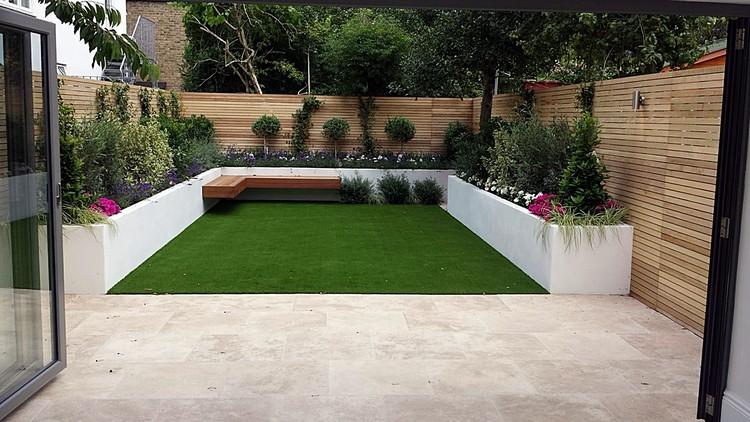 Gartengestaltung Ideen Sichtschutz Imposing On Innerhalb Zaun Oder Gartenmauer 102 Für 2