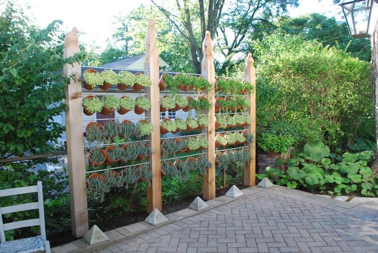 Gartengestaltung Ideen Sichtschutz Kreativ On Beabsichtigt Moderner Für Den Garten 20 Tolle 1