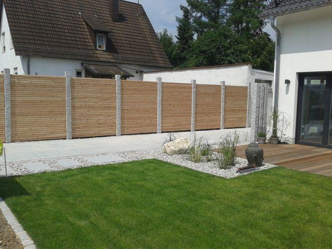Gartengestaltung Ideen Sichtschutz Modern On Für Aus Holz For Designs Widmann Fr Den Garten 5