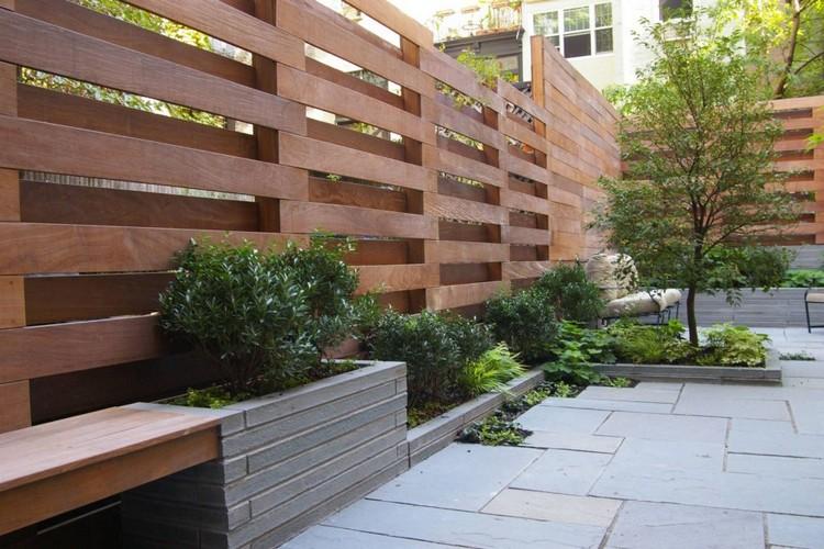 Gartengestaltung Ideen Sichtschutz Wunderbar On In Bezug Auf Modern Moderner Garten Herrlich Mit Für Den 8