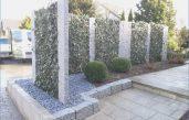 Gartengestaltung Ideensichtschutz Metall