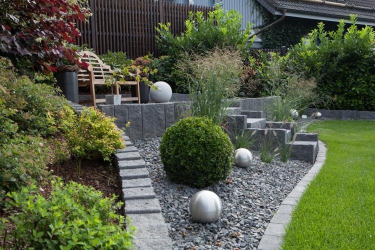 Gartengestaltung Mit Kies Einzigartig On Andere In Und Steinen Modern 8