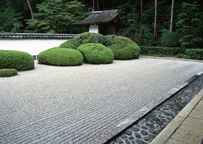 Gartengestaltung Mit Kies Fein On Andere überall Kiesgarten Anlegen 29 Faszinierende Gestaltungsideen 9