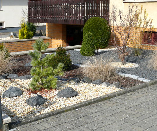 Gartengestaltung Mit Kies Zeitgenössisch On Andere überall Wieneke Uslar Referenzen Im Garten 7