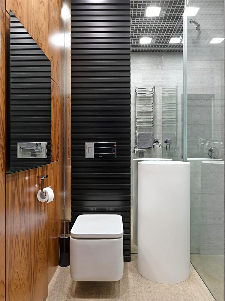 Gäste Wc Gestalten Stilvoll On Andere Für WC 16 Schöne Ideen Ein Kleines Bad 4