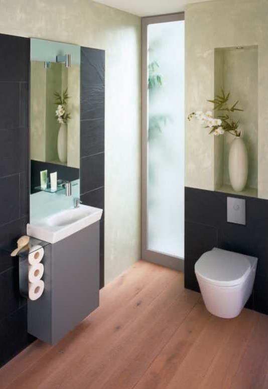 Gäste Wc Gestalten Stilvoll On Andere Mit WC 15 Ideen Für Die Gestaltung Und Einrichtung 9