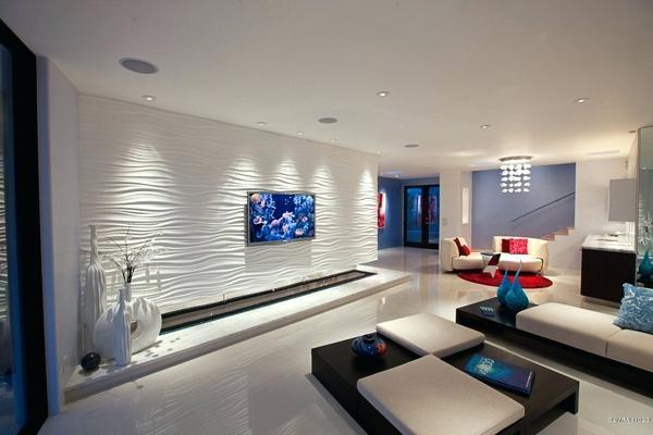 Gestaltung Wohnzimmer Ideen Frisch On In Bezug Auf Wand Luxus Schmuck 6