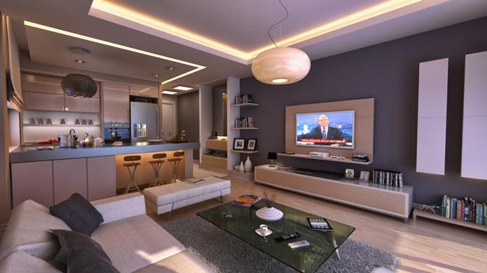 Gestaltungsideen Wohnzimmer Bescheiden On Ideen Beabsichtigt Malerei Schlafzimmer Wandfarbe 2