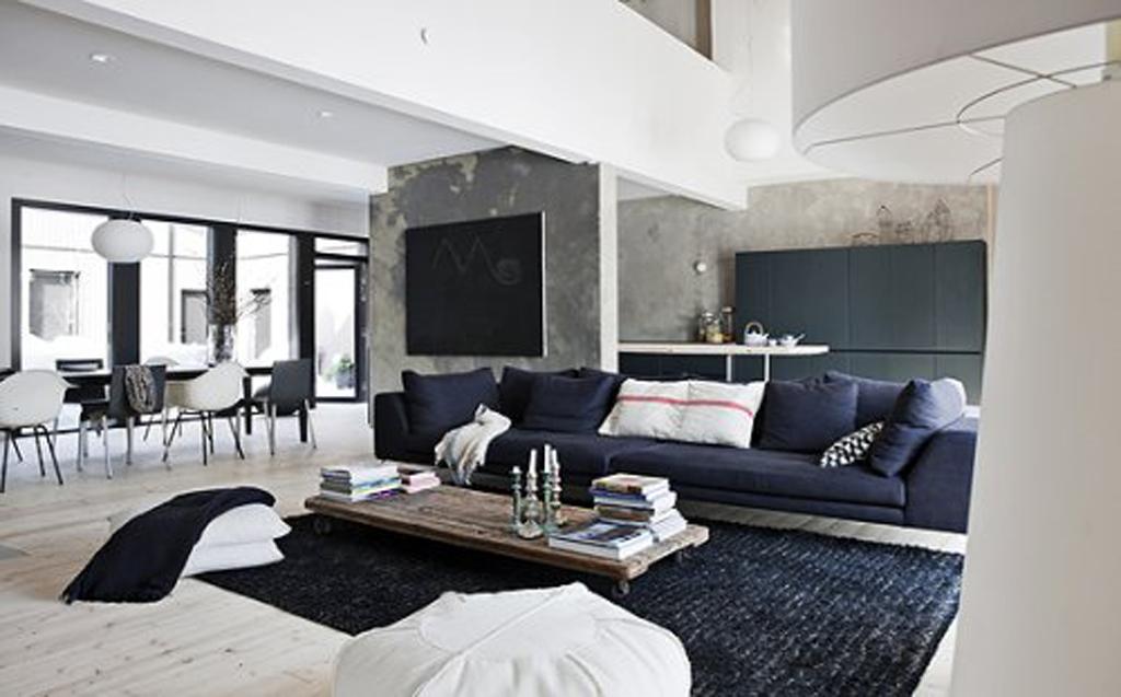 Gestaltungsideen Wohnzimmer Kreativ On Ideen Und Schwarz Weiße FresHouse 7