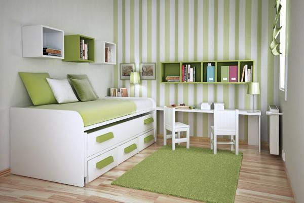 Gestreifte Grüne Wände Nett On Andere Beabsichtigt Nummer Eins De Pumpink Com Wohnzimmer 1
