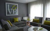Grün Grau Wohnzimmer