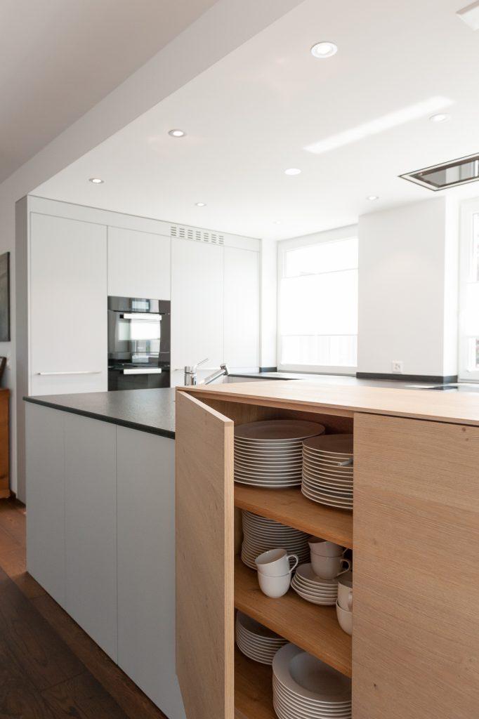 Halboffene Küchen Beeindruckend On Andere Mit Projekt Küche Der Superlative Späti Innenausbau 6