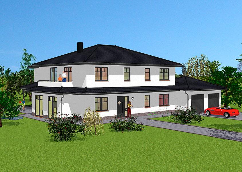 Haus Bauen Ideen Mediterran Bemerkenswert On überall Einfamilienhaus Mit 3 6 Kinderzimmern Für Großfamilien 4