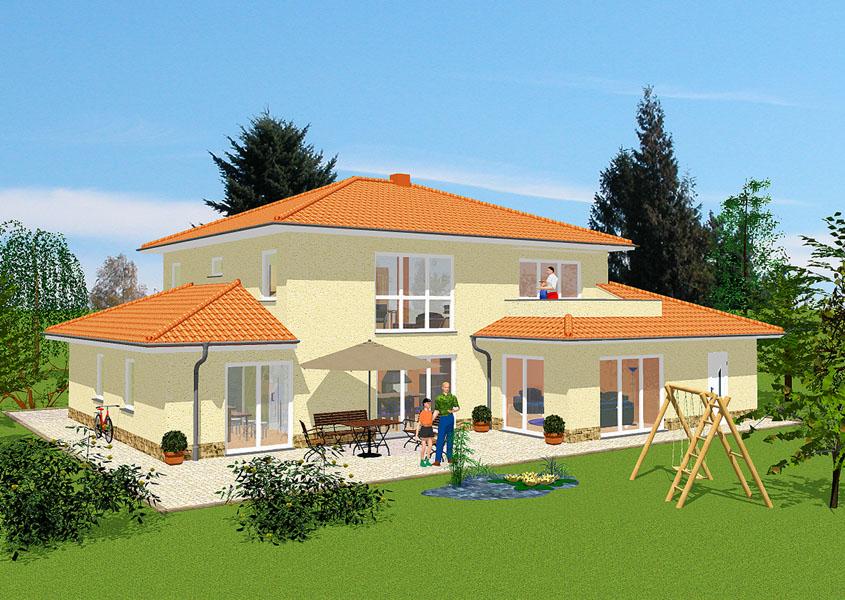 Haus Bauen Ideen Mediterran Großartig On Auf Mediterranes Stadthaus Modell MS 720 224 8 M 3