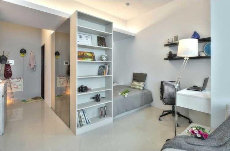 Ideen 1 Zimmer Wohnung Großartig On Beabsichtigt Raum 4