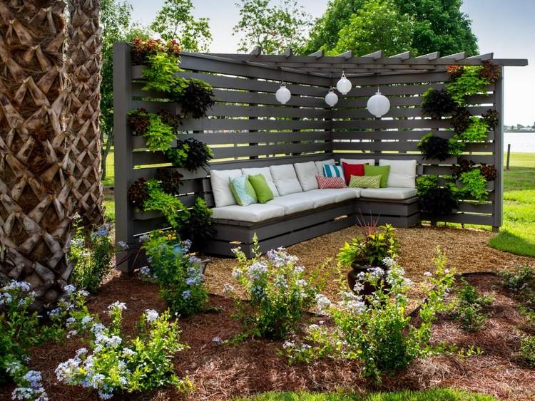 Ideen Garten Zeitgenössisch On In Bezug Auf Sichtschutz Tolles Dekoration Küche Landhausstil 4