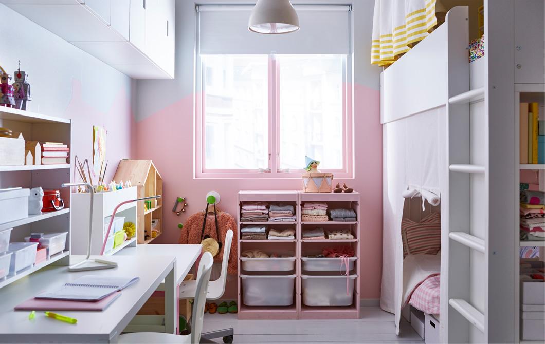 Ideen Kinderzimmer Beeindruckend On In Bezug Auf Kleines Einrichten Kreative IKEA 7