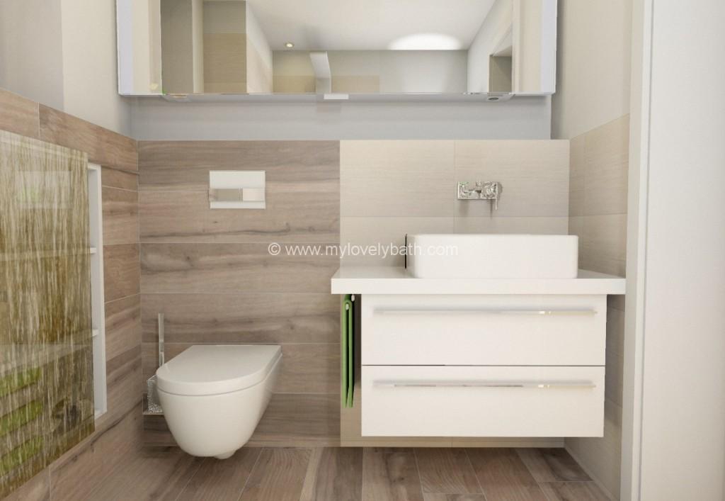 Ideen Kleine Bader Fliesen Einzigartig On Innerhalb Die Besten 25 Köstlich Kleines Bad Wohndesign 4