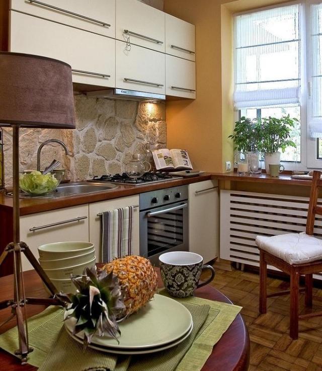 Ideen Küche Einrichten Schön On Beabsichtigt Für Kleine 25 Tolle Und Bilder 8