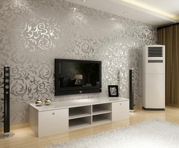 Ideen Wandbemalung Wohnzimmer Exquisit On überall Ideal 4