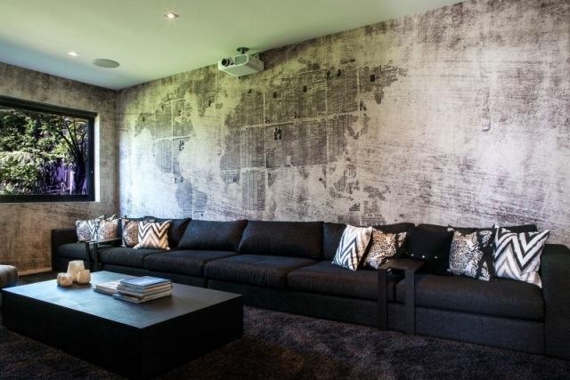 Ideen Wandbemalung Wohnzimmer Unglaublich On Auf Amocasio Com 2