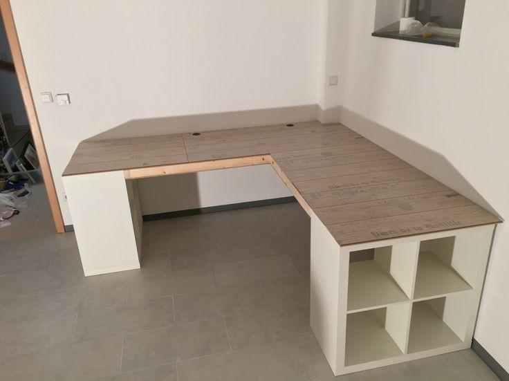 Ikea Schreibtisch Diy Fein On Andere Mit Innen Und Aussen Architektur 8