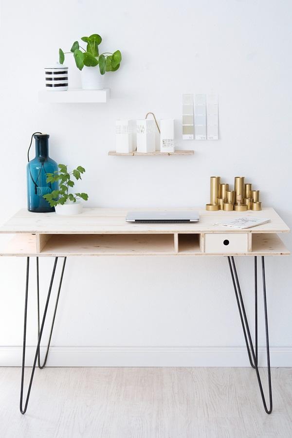 Ikea Schreibtisch Diy Imposing On Andere In Bezug Auf Ein Zum Selberbauen Sinnenrausch Der Kreative DIY 6