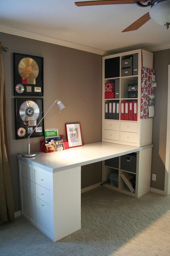 Ikea Schreibtisch Diy Unglaublich On Andere Beabsichtigt 39 DIY Desk Ideas To Improve Your Home Office Hack Desks 2