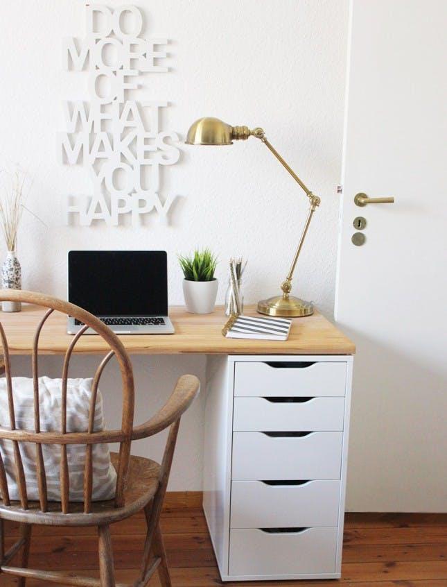 Ikea Schreibtisch Diy Zeitgenössisch On Andere Mit 21 IKEA Desk Hacks For The Most Productive Workspace Ever Brit 7