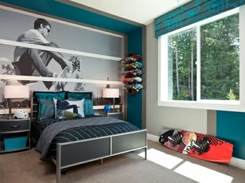 Jugendzimmer Für Jungs Einfach On Andere Mit Farbgestaltung Fürs 100 Deko Und 7
