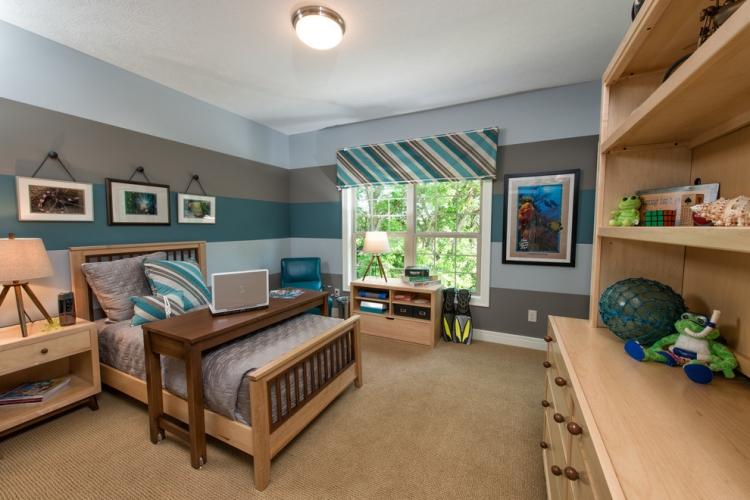 Jugendzimmer Streichen Farbe Stilvoll On Andere Innerhalb 65 Wand Ideen Muster Streifen Und Struktureffekte 1