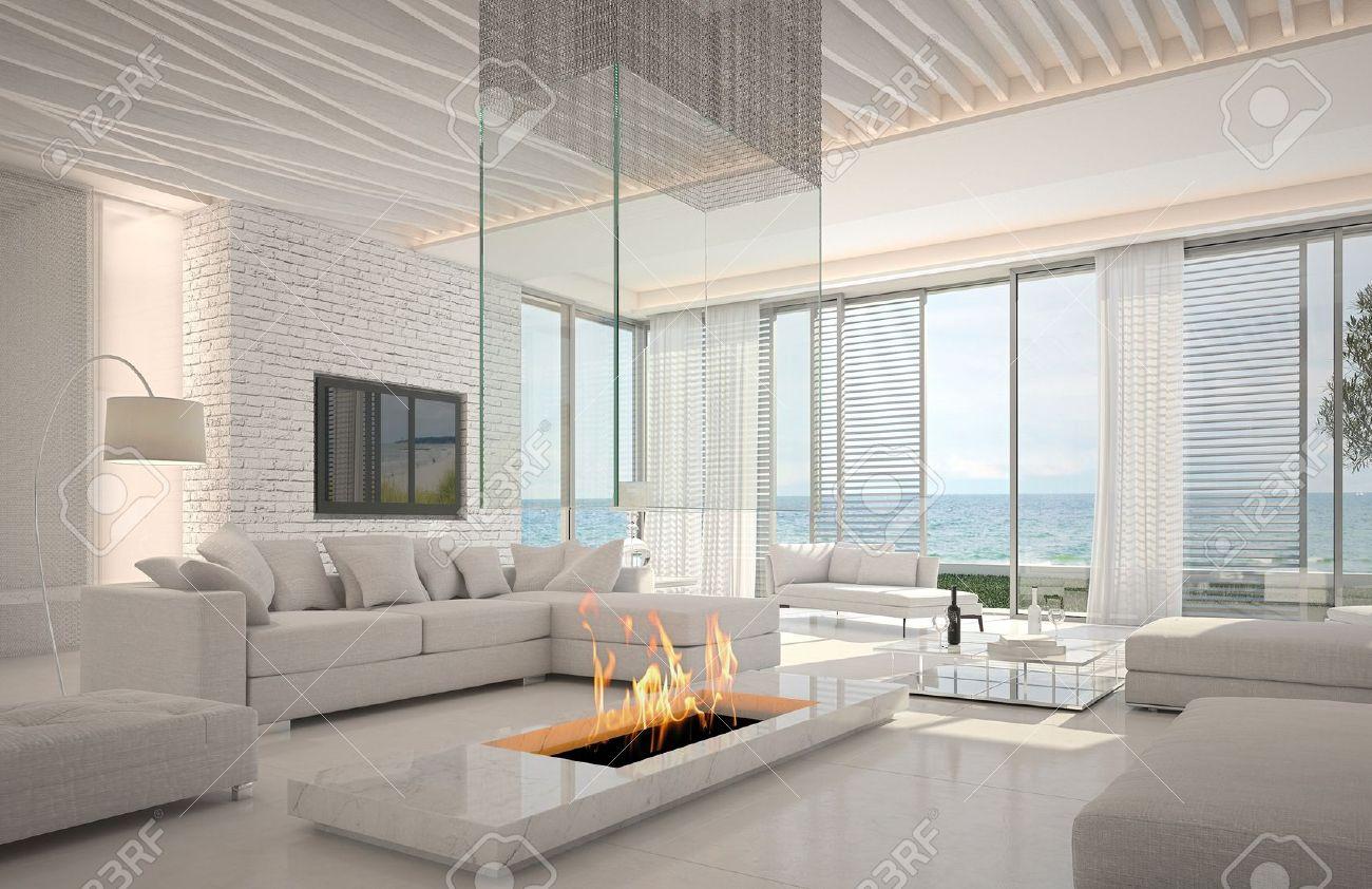Kamin Modern Wohnzimmer Schön On überall Design Mit Houzzilla Com 6
