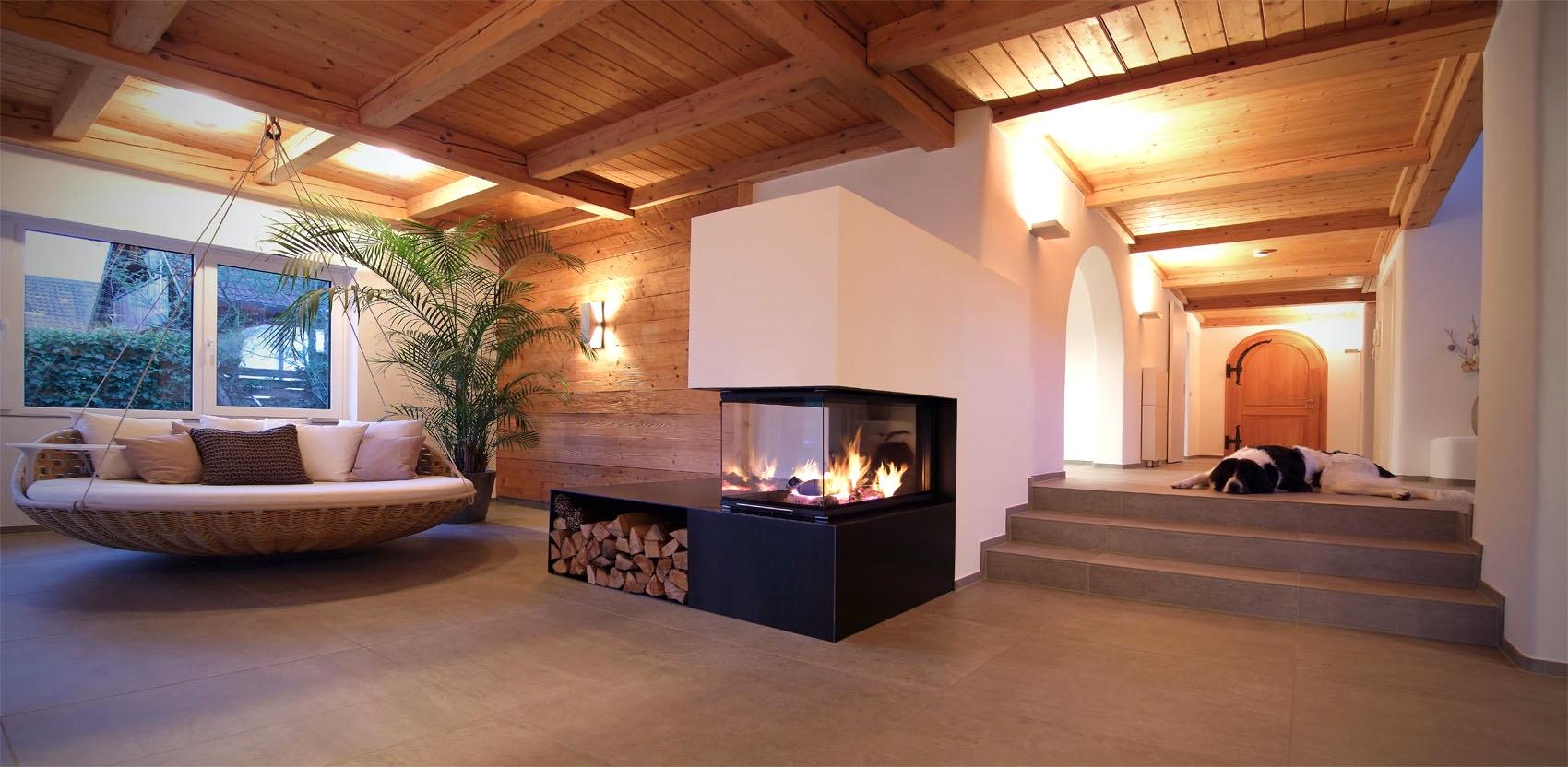 Kamin Modern Wohnzimmer